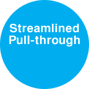 Streamlined Pull-through